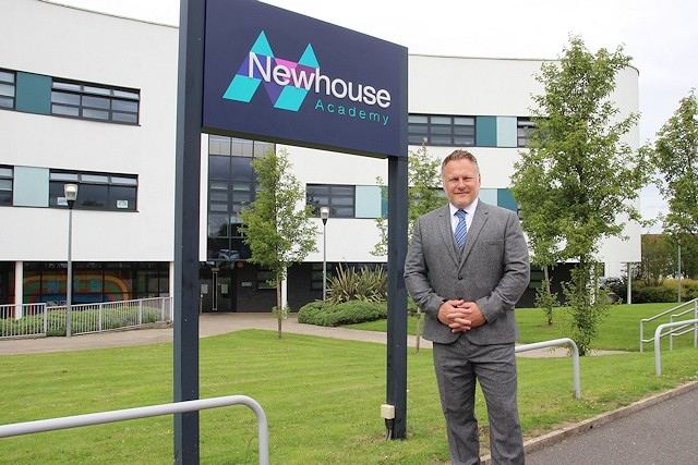 Alex Burnham is the new headteacher at Newhouse Academy in Heywood