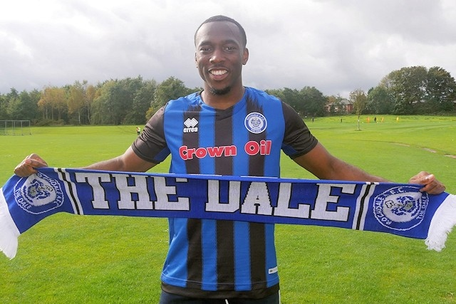 Tolaji Bola has joined Dale on loan from Arsenal