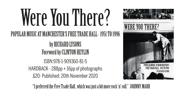 Richard Lysons has written his first full length book about the Manchester music scene, 'Were You There?'