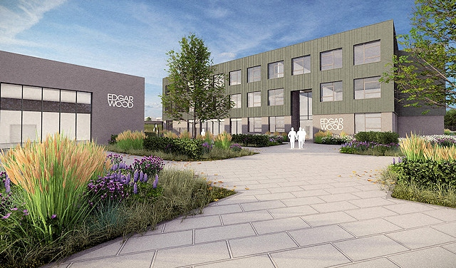 Artist's impression of Edgar Wood Academy, subject to further development and planning approval