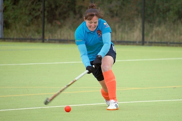Jenny Banks scored four goals and was named player of the match