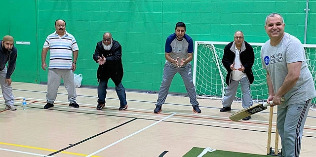 The Indoor Legends Cricket League at Rochdale Leisure Centre