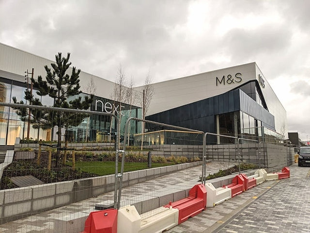 The new Marks and Spencer store in Rochdale