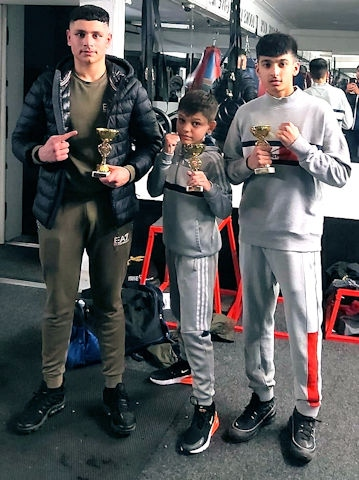 BTK Boxing: Sarhan Khan, Kamran Malik and Adam Ahmed