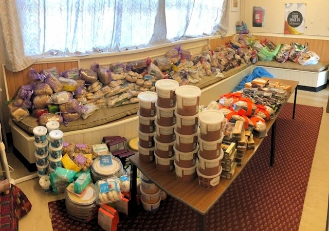 Food donated by Marks & Spencer