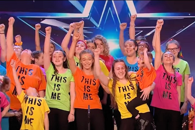 Sign Along With Us performing on Britain's Got Talent