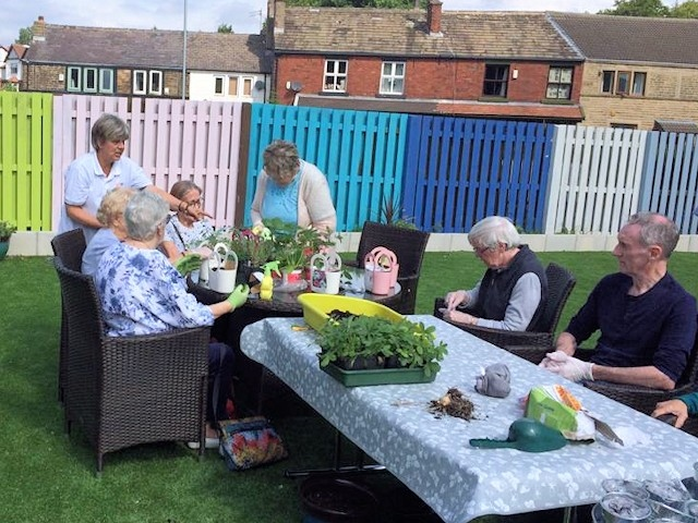The report found the service provided a pleasant atmosphere and a good range of activity for residents