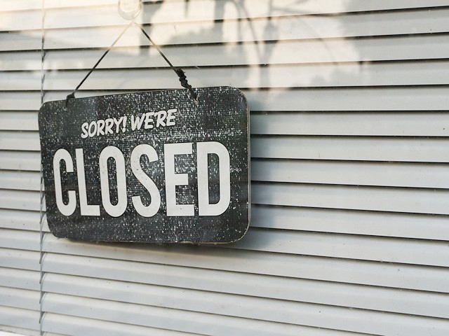 Some businesses have been ordered to close due to the current coronavirus pandemic