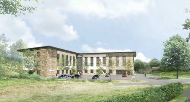 What the Milnrow Health Hub would look like (from the planning and delivery statement)