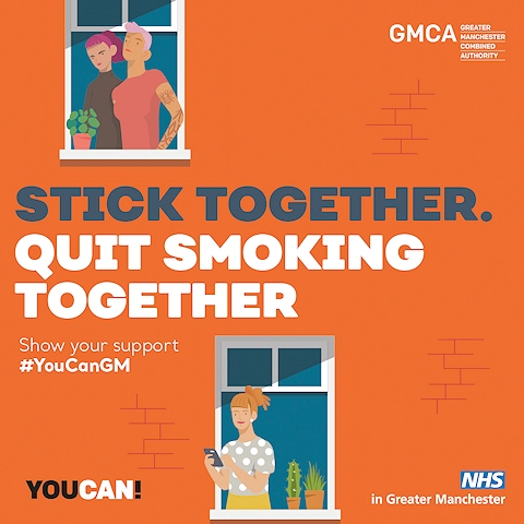 Stop smoking to reduce the risk of suffering serious complications if you develop coronavirus