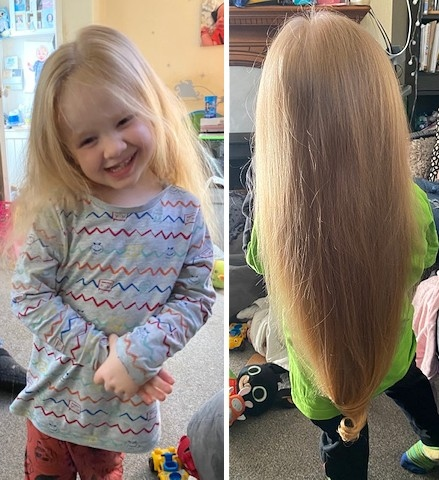 Rochdale News News Headlines Four Year Old Boy Donates Long Hair To Little Princess Trust After Very First Haircut Rochdale Online