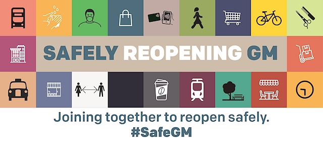 Safely Reopening GM campaign on how to stay safe