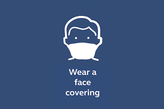 Face coverings can help protect others and reduce the spread of the disease