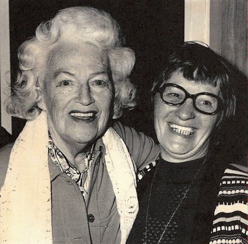 Gracie Fields with Jean Chadwick