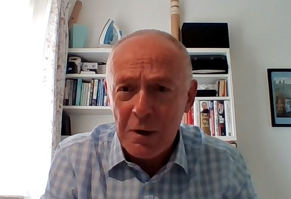 Sir Richard Leese was speaking at an online press conference