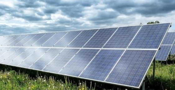The solar farm will be installed on fields south of Chamber House Farm, off Rochdale Road East