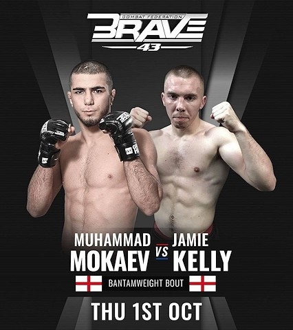 Pro-MMA fighter Jamie Kelly (right) fights out of SBG Rochdale