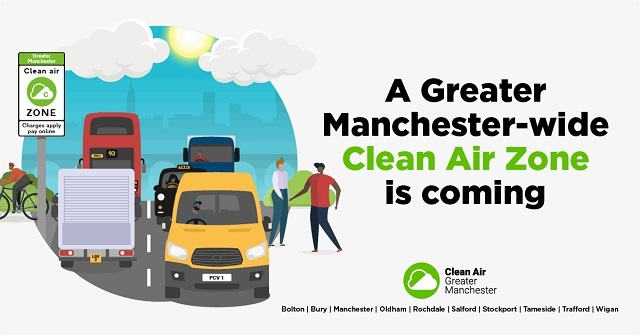 A Greater Manchester-wide Clean Air Zone is coming to the city-region