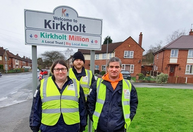 In December 2019, three Kirkholt residents – Phil Cocker, Coriena Jones and Michael McLean – were employed as the Kirkholt Ranger Team by Groundwork Greater Manchester