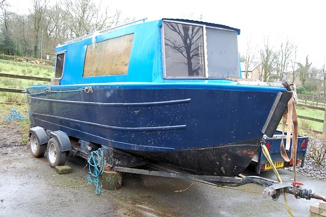 22ft Narrowboat for sale