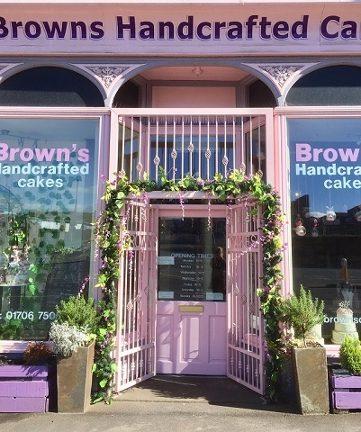 Brown's Cakes, St Mary's Gate