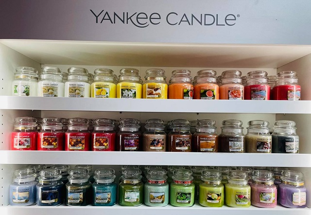 Yankee Candles at Yankee Heaven