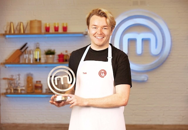 Tom Rhodes from Rochdale has been crowned MasterChef 2021 champion
