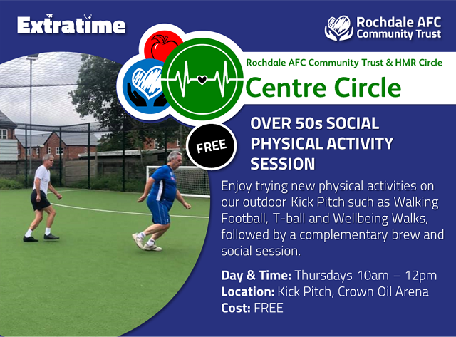 The first Centre Circle session will be at the Crown Oil Arena, starting on Thursday 21 April at 10am
