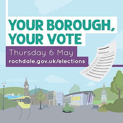 On Thursday 6 May voters go to the polls to elect the borough's councillors who are responsible for making decisions on running local services