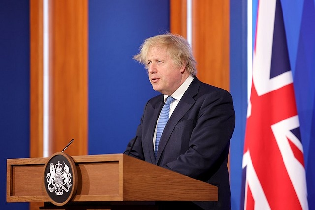 Prime Minister Boris Johnson held a Covid-19 press conference on Easter Monday
