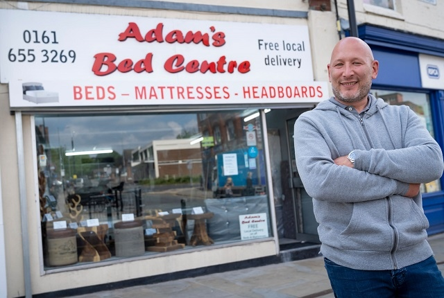 Adam's Bed Centre in Middleton will be reopening its doors from 12 April