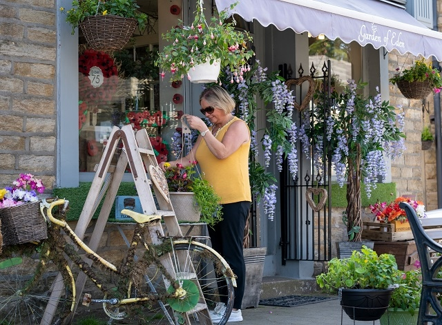 Florists like Garden of Eden in Norden will be opening their doors once again