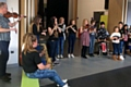 Folk group workshop at Wardle Folk Festival