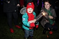 Jasper at the Cronkeyshaw Common Bonfire and Firework Display