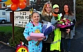 Fond farewell as Elaine Gledhill a popular crossing patrol lady retires