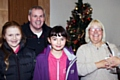 Councillor Richard Farnell and Councillor Kathleen Nickson with volunteers at St Thomas� Church Autumn Fayre