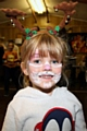 Georgina Davies gets into the spirit at the St Michael�s Church Uniformed Groups Christmas Fair