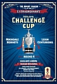 Rochdale Hornets take on Leigh Centurions in a Challenge Cup fourth round fixture