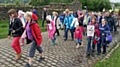 Protest walk against Rooley Moor Wind Farm