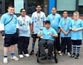 Kingsway Park High School at the Disability Games