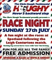Hornets Race Night