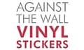 Against the Wall Vinyl Stickers