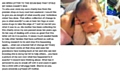 Open letter to the thief who stole the charity tin with a photo of baby Nathan James Cooper on