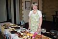 Jacqui Carmichael - whose husband Stuart has cavernoma - at Smithy Bridge Methodist Church coffee morning