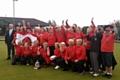 The winning Lancashire Crown Green Ladies Bowling team