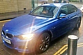 The stolen BMW 335D X Drive M Sport  - registration MJ65 APX