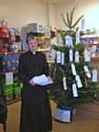 Reverend Karen Smeeton at the RSPCA coffee morning