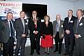 John Yearsley, Harry Yearsley, Mayor Surinder Biant, Mayoress Cecile Biant, Peter Yersley, John Searle and Brian Tomkinson