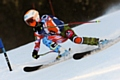 Daisi Daniels competing at the Anglo Scottish and British Ski Academy (BSA) Championship in Las Houches France