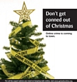 Don't get conned by online scams this Christmas